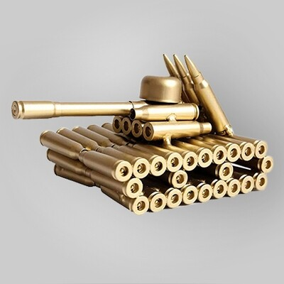 Bullet Casings Tank