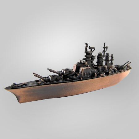 BB-40 Navy Battleship Pencil Sharpener