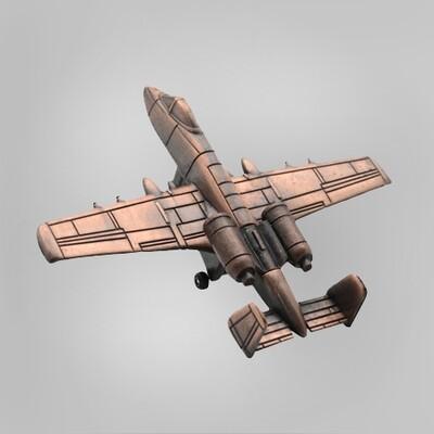 A-10 Warthog Plane Pencil Sharpener