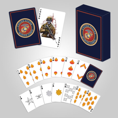 Marine Corps Playing Cards
