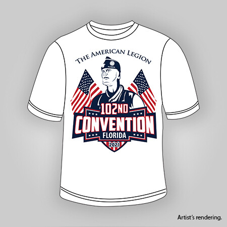 2021 Dept Convention T-Shirt Men's (Pre-sale)
