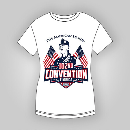 2021 Dept Convention T-Shirt Ladies