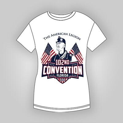 2021 Dept Convention T-Shirt Ladies (Pre-sale)