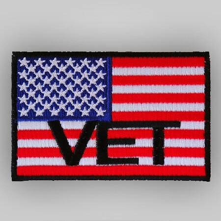 Patch - American Flag Vet