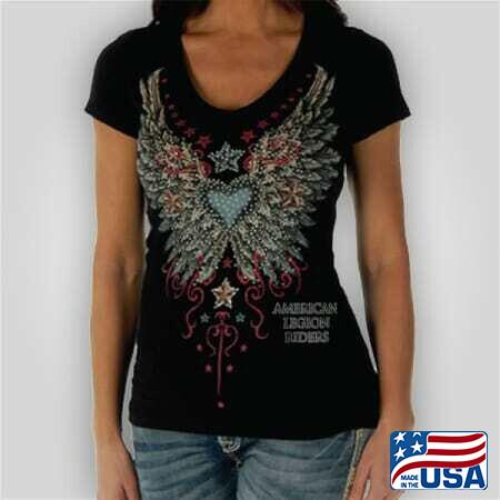 Lady Riders Wings N Stars