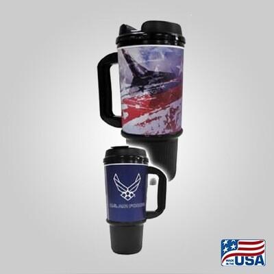 Air Force 24oz Travel Mug