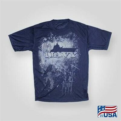 Navy Performance TShirt