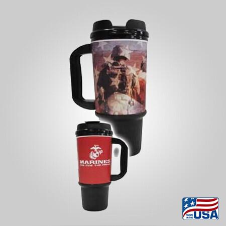 Marines 24oz Travel Mug