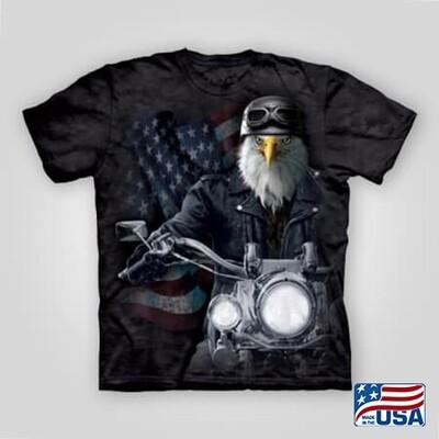 Eagle Biker T-Shirt