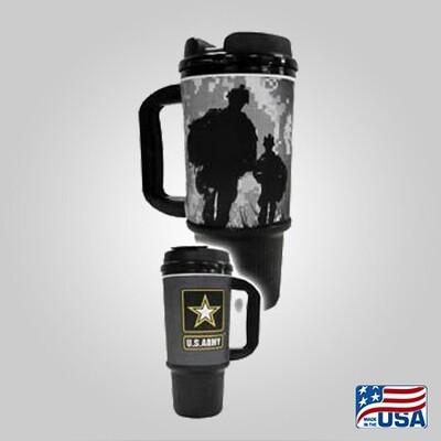 Army 24oz Travel Mug