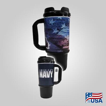 Navy 24oz Travel Mug