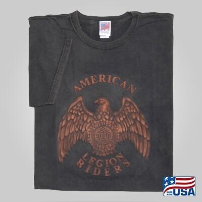 Legion Riders Embossed Emblem T-shirt