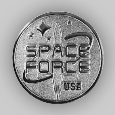 Space Force USA Pin