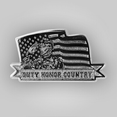 Duty, Honor, Country Pin
