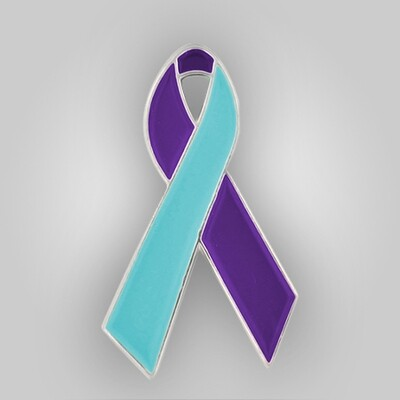 Suicide Prevention Awareness Ribbon Pin