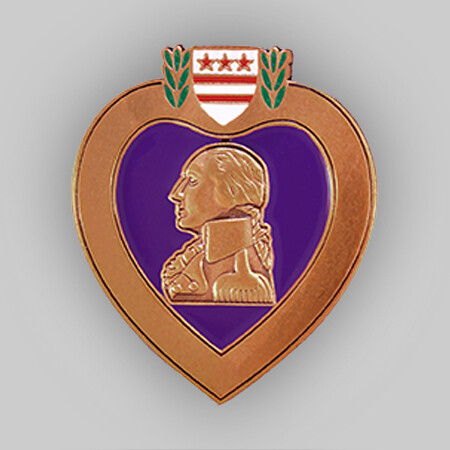 Purple Heart Veteran Pin