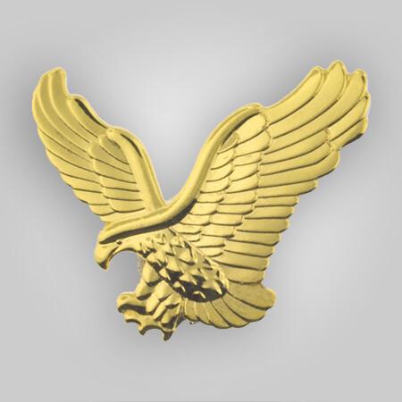 Gold Eagle Pin Magnetic Back