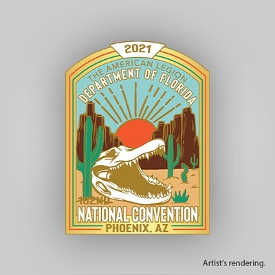 2021 FL National Convention Pin