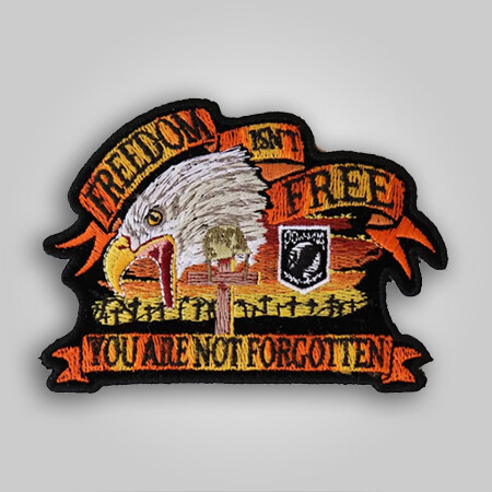 Freedom Isn't Free Eagle Patch