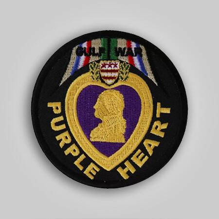 Gulf War Purple Heart Patch