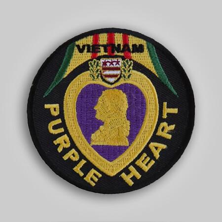 Vietnam Purple Heart Patch