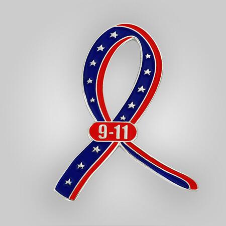 9-11 Ribbon Pin