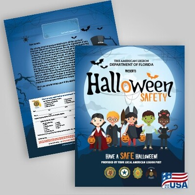 Halloween Coloring Book 100 Pack