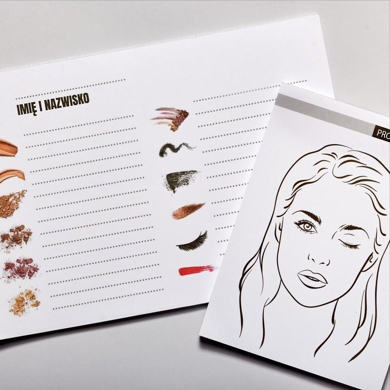 BEAUTY NOTES Face Chart + Cosmetics List