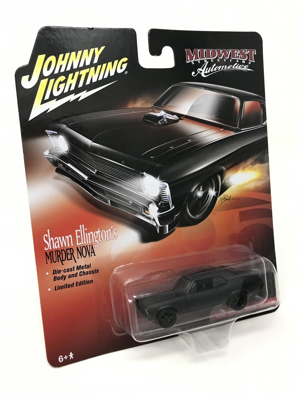 Johny Lightning Murder Nova Die-Cast Car