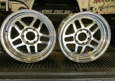 99+ Silverado 17x7 and 15x10 wheel package