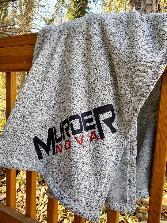 Murder Nova Sweater Fleece Throw 50inx60in