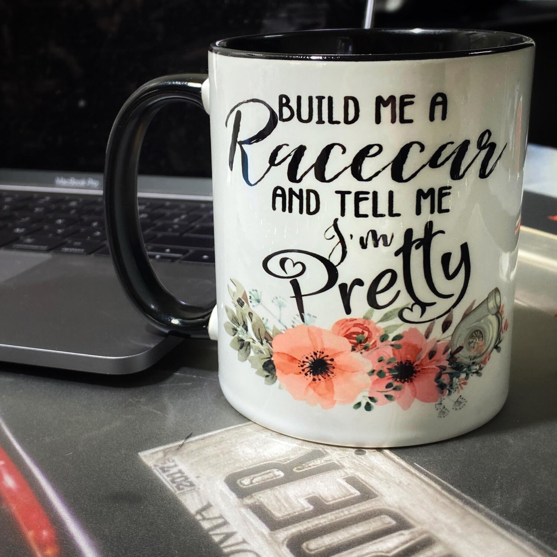 Build Me A Racecar Coffee Mug