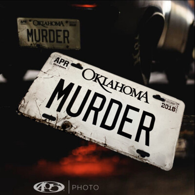 Murder Nova License plate (for Nostalgia And Decor ONLY)
