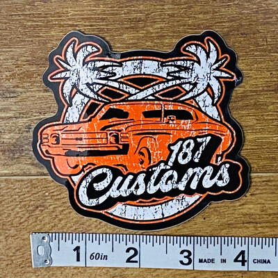 187 Customs California Kid