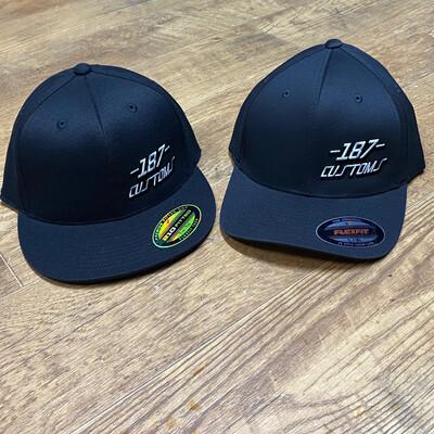 Black 187 Customs Shop Hat