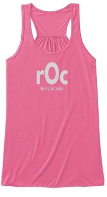 rOcfamily Women's Flowy Tank