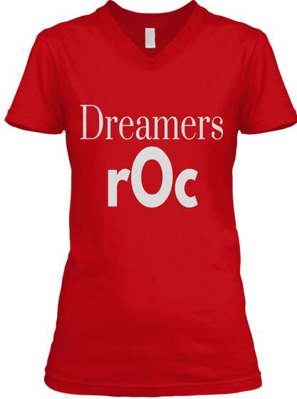 dreamrOc2 Classic Women's V-NeckTee