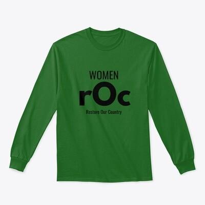 Women rOc Classic Long Sleeve Tee