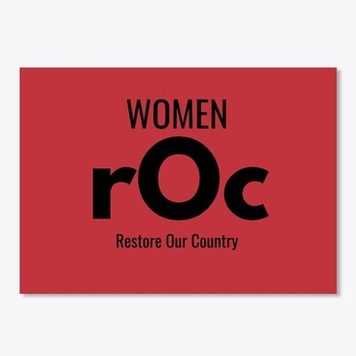 Women rOc Sticker