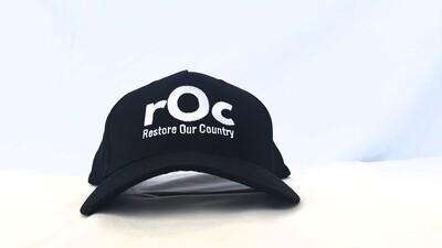 Black Snapback rOc Cap
