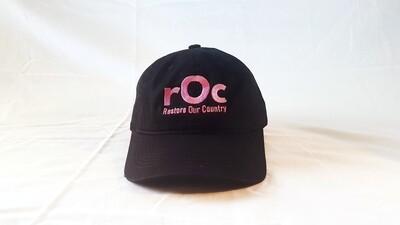Pink/Black Buckle rOc Cap