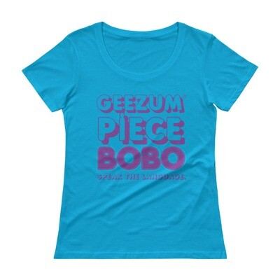 Cayman Islands Ladies' Scoopneck T-Shirt