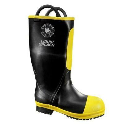 Black Diamond Rubber Firefighting Boot