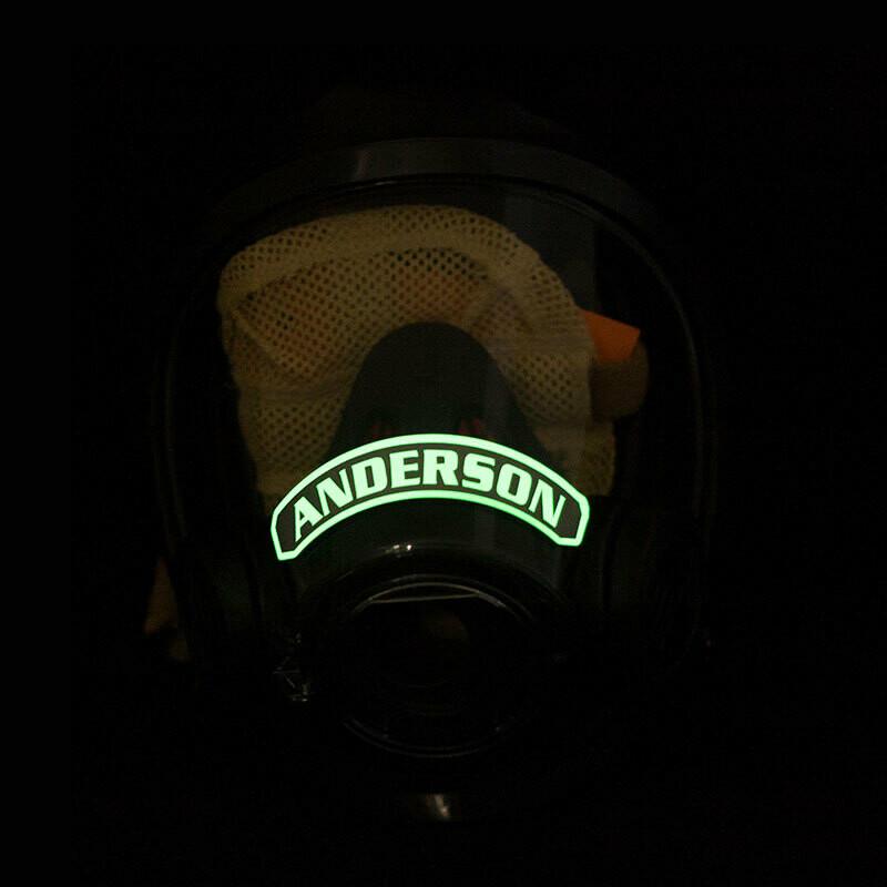 IdentiFire® Gen 2 *SCOTT* SCBA Face Mask Nameplate