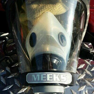 IdentiFire® Gen 2 *Survivair/Honeywell Titan* SCBA Face Mask Nameplate