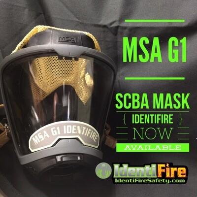 IdentiFire® Gen 2 MSA *G1* SCBA Face Mask Nameplate
