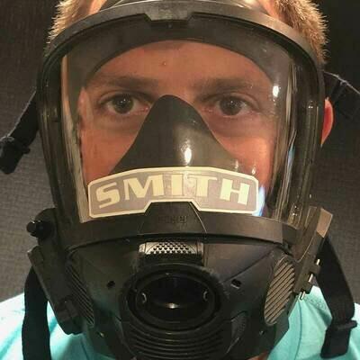 IdentiFire® Gen 2 Dräger SCBA Face Mask Nameplate