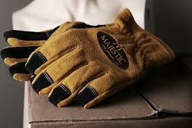 MFA 82 Structural Firefighting Gloves Gauntlet
