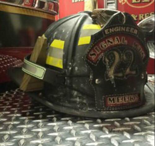 IdentiFire® Leather Gen 2 IdentiFire Helmet Band