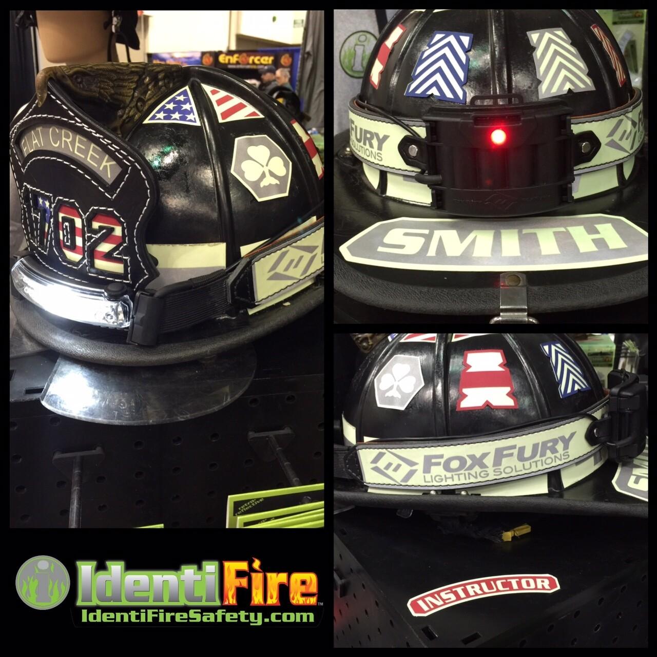 IdentiFire Gen 2 Helmet Band w/ FoxFury Light